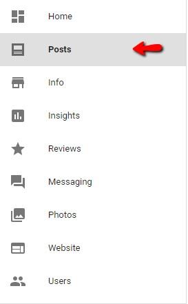 Google My Business Post screenshot